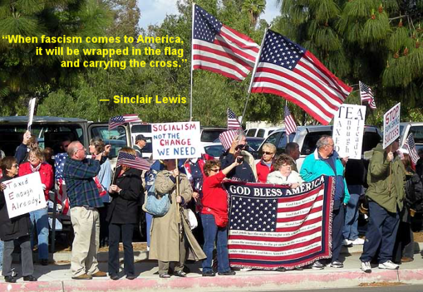 tea_party_flag_fascism_sinclair_lewis