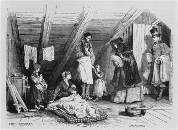 Visiting_the_poor,_illustration_from_'Le_Magasin_Pittoresque',_Paris,_1844_by_Karl_Girardet-2